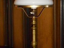 Лампа настольная.Царская Россия.Кабинетная.Латунь