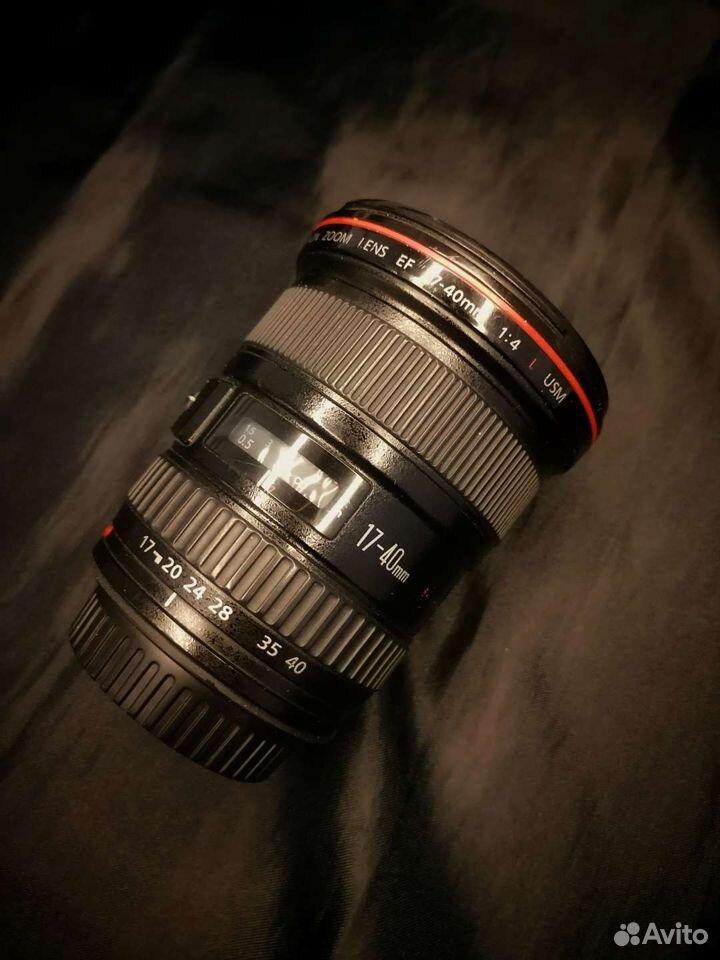 Широкоугольник Canon 17-40L f4