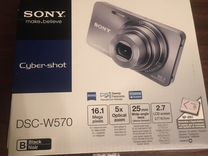 Фотоаппарат Sony DSC-W570